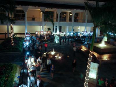 Princess Resort at Night