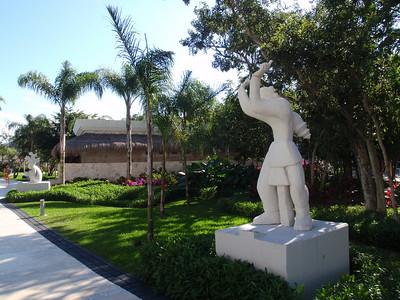 Statues at the Princess Resort