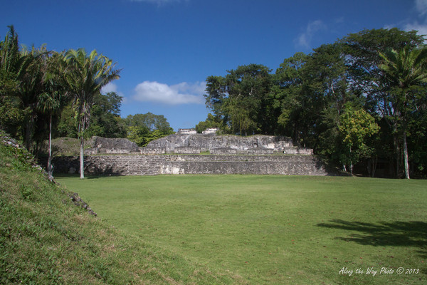 """Belize-17-2<br /> Ruins in Xunantunih.  Xunantunich served as a civic ceremonial center to the people in the Belize valley area. Xunantunich is a modern name, given the site after reports, starting in 1892, of the ghost of a woman, with glowing red eyes walking up the stairs of the temple. Xunantunich is Mayan for """"Stone Woman""""."""