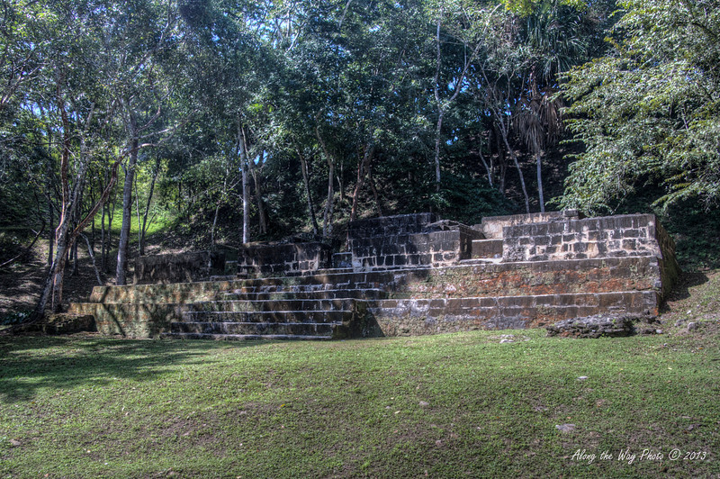 """Belize-3<br /> Ruins in Xunantunih.  Xunantunich served as a civic ceremonial center to the people in the Belize valley area. Xunantunich is a modern name, given the site after reports, starting in 1892, of the ghost of a woman, with glowing red eyes walking up the stairs of the temple. Xunantunich is Mayan for """"Stone Woman""""."""