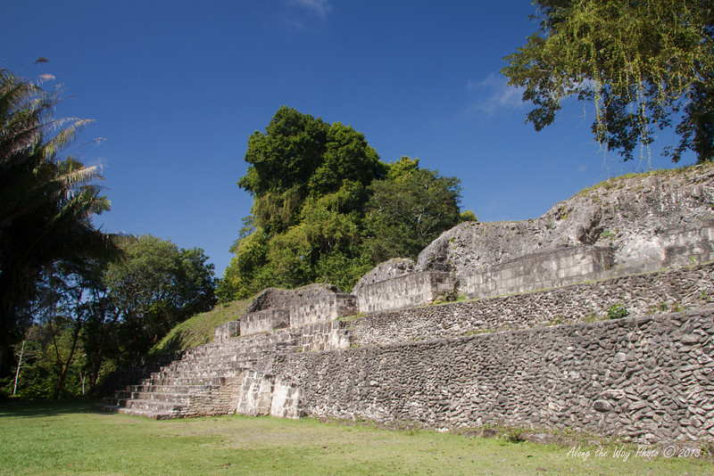 """Belize-6-2<br /> Ruins in Xunantunich. Xunantunich served as a civic ceremonial center to the people in the Belize valley area. Xunantunich is a modern name, given the site after reports, starting in 1892, of the ghost of a woman, with glowing red eyes walking up the stairs of the temple. Xunantunich is Mayan for """"Stone Woman""""."""