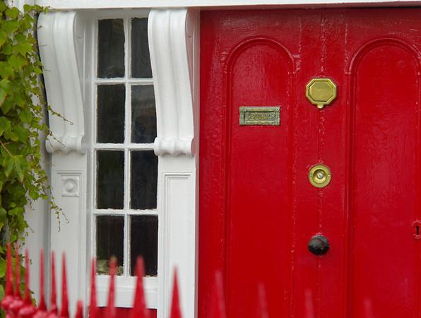 Typical Westport doorway.