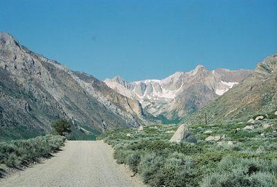 7/7/05 Road to McGee Creek Trail, McGee Canyon