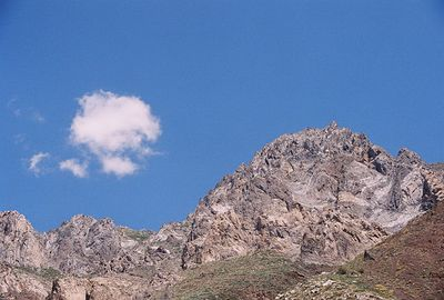 7/7/05 View from McGee Creek Trail. Eastern Sierras, Mono County, CA