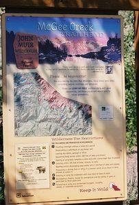 7/7/05 McGee Creek Trailhead (John Muir Wilderness)
