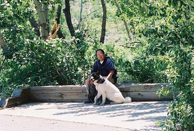 7/7/05 McGee Creek Trailhead (to John Muir Wilderness). Inyo National Forest, Eastern Sierras, Mono County, CA