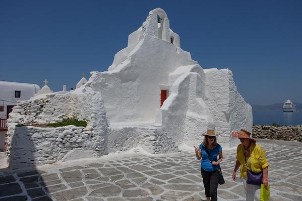 Church at Mykonos