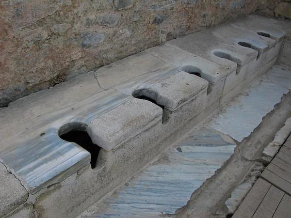 Ephesus  - Toilets of the Romans
