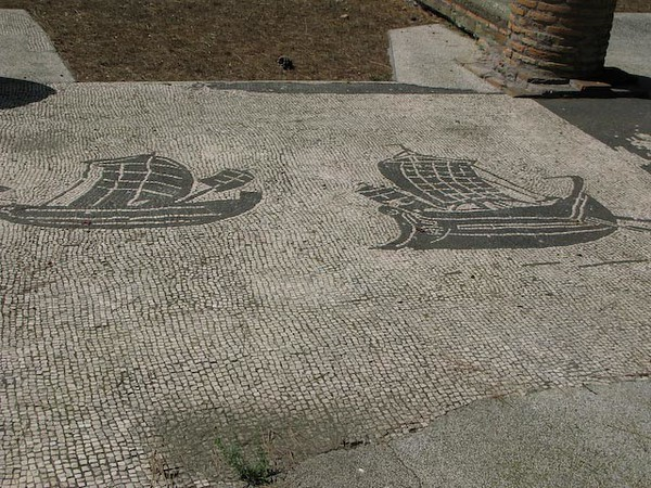 Osteo Antica Mosaic from 3rd Century