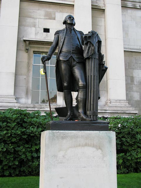 George Washington in London - How open minded of the British.