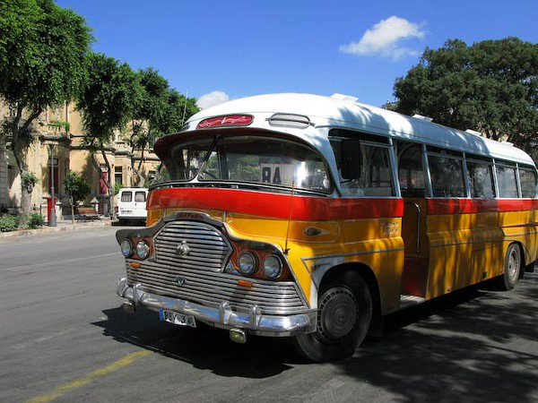Malta - 50s era city bus