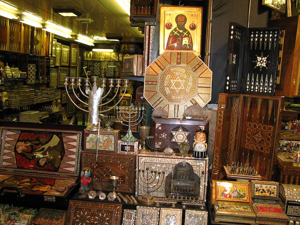 Istanbul - Judaica at the Grand Bazaar