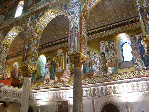 Palatine Chapel in Palermo.  Dates back to 1140 AD
