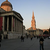 Trafalgar Square - National Gallery on the left.