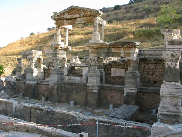 Ephesus - Fountain of Trajan