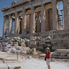 On top of the Acropolis - Parthenon