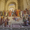 School of Athens by Rafael, in Vatican Museum.