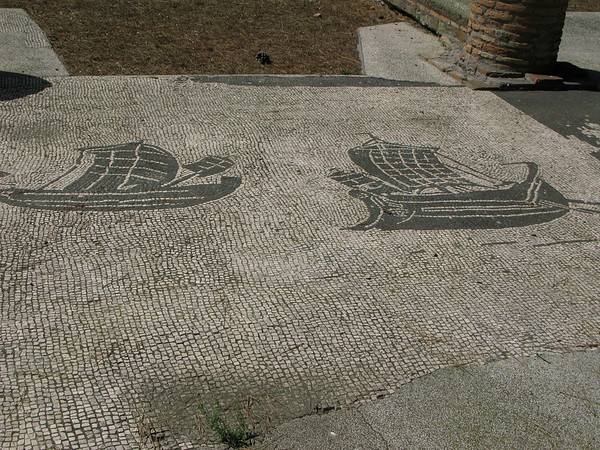 Mosaic at Osteo Antica