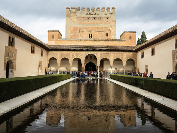 The Comares Tower in the Alhambra
