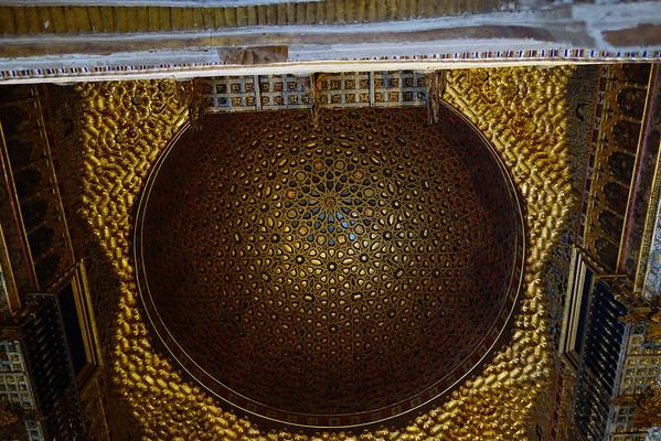 Ceiling in the Alcazar