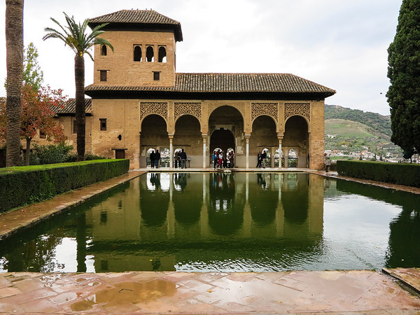 Tower of the Ladies in the Alhambra