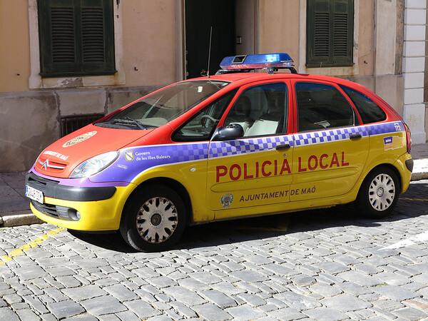 Police Car in Mahon