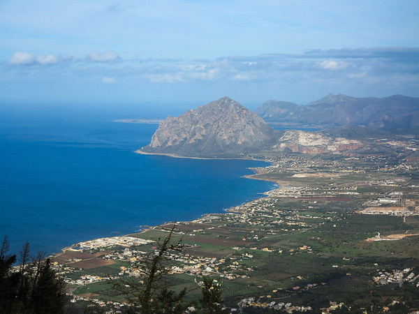 View from Erice, Sicily