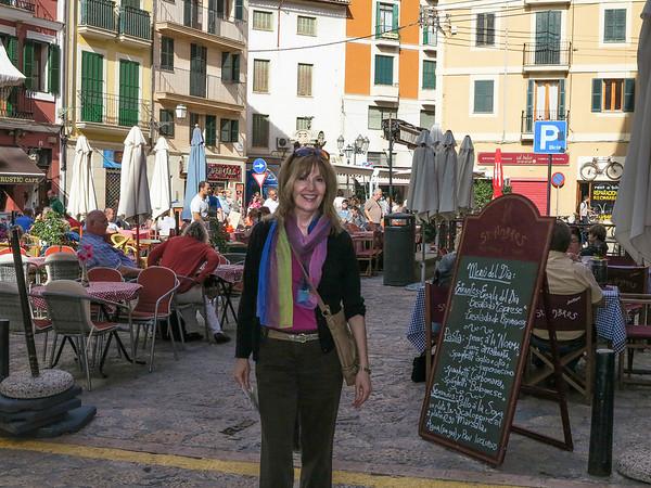 Plaza in Majorca