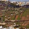 I'll remember my walk down the zigzag trail. Santorini, Greece