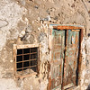Wall on the way down. Santorini, Greece