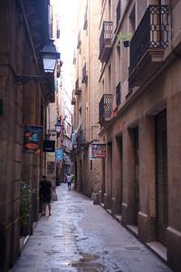 Carrer de l'Argentina, in the Gothic quarter