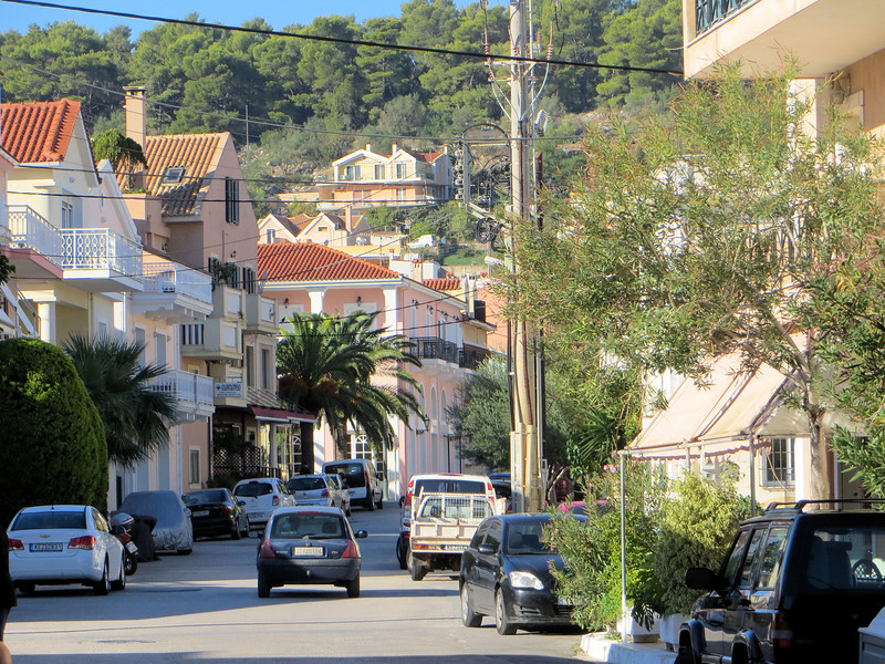 I think everything in Greece is hilly.