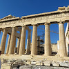 I cannot describe the effect that this building has on those who see it.  Besides being beautiful in its own right, it is associated in our minds with everything that Greece stands for in the history of western civilization--men's reflections on the nature of knowledge, the nature of human conduct,  the principles of a just and democratic society.  It is a source of fierce Greek national pride and yet it somehow belongs to the whole world, too.
