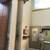 The other column from the entryway to the beehive tomb.