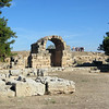 The agora, an open space and market area which is a common feature of ancient Greek cities.