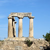 It was built in the 6th century B.C.  It had 38 Doric columns, but these are all that remain.