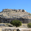 Mycenae is one of the most famous of all ancient sites.  We know that it was inhabited as far back as the Early Bronze Age, 2500-2300 B.C.  But its period of greatest glory was from 1600 to 1200 B.C.  Mycenae held a pre-eminent place among the states that participated in the Trojan War, led by its great king, Agamemnon.  The site was never buried, and was well known to exist.  Serious excavations began in the 19th century and are ongoing.  We know a great deal about the Mycenean civilization.