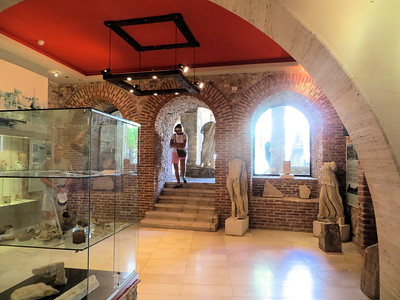 A glimpse inside the little museum.