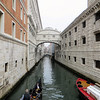The famous Bridge of Sighs.  It connects the Doge's Palace to the prison next door.