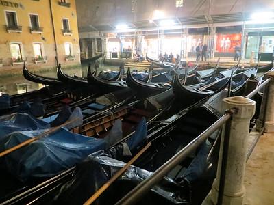 Where do gondolas go at night?  To the gondola parking lot!