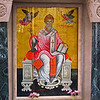 An icon of St. Spyridon whose remains reside in the church dedicated to him.