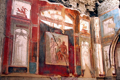 Amazingly well-preserved fresco.