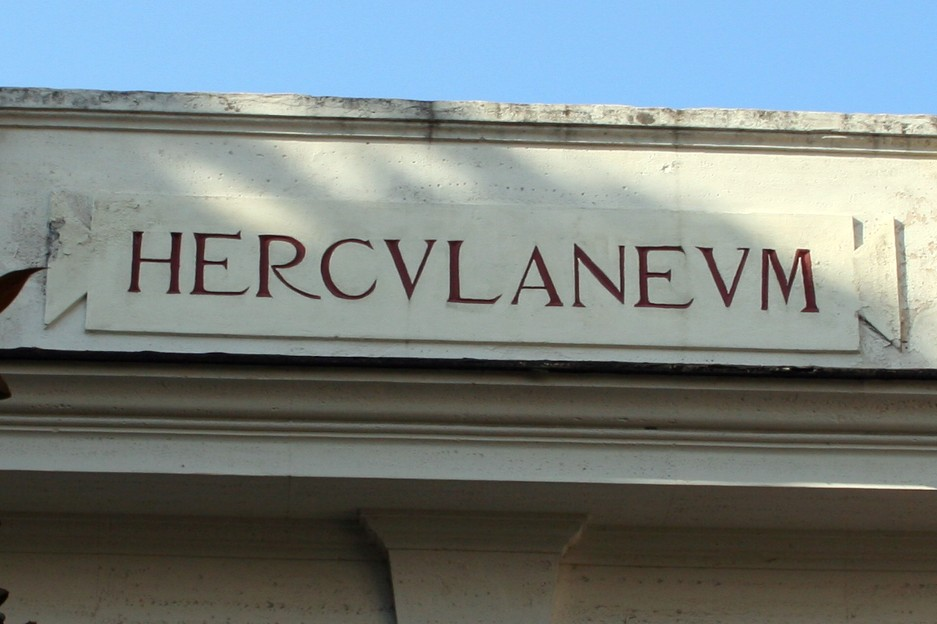 Our shore excursion in Naples was to Herculaneum.  Similar to Pompeii, this city was destroyed and preserved when Mt. Vesuvius erupted in 79 A.D.  Unlike Pompeii, this city was flooded and preserved by a torrent of mud.  It was like going back in time.