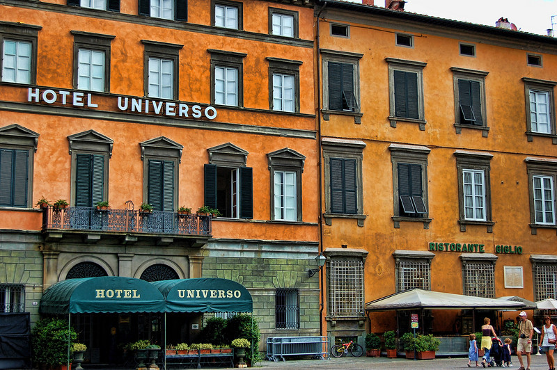 Hotel Universo, Lucca, Italy