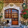 Door in stone, St Paul de Vence