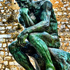 The Thinker by Rodin #2, St Paul de Vence