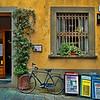 Ristorante and bike, Lucca, Italy