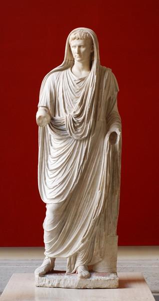 Statue of Augustus as Pontifex Maximus