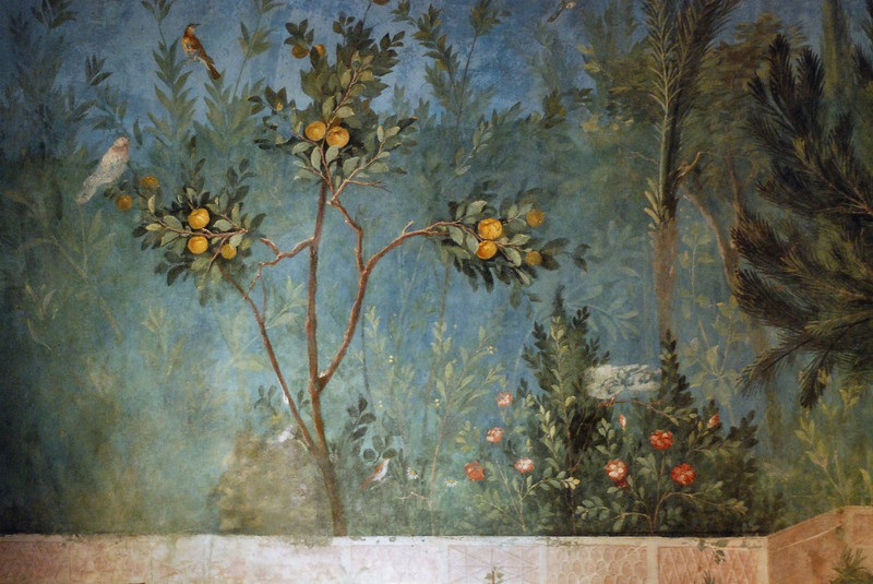 Fresco from the triclinium of Livia's House