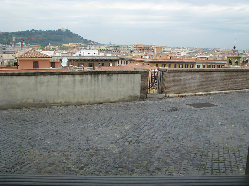 View from Vatican Museum
